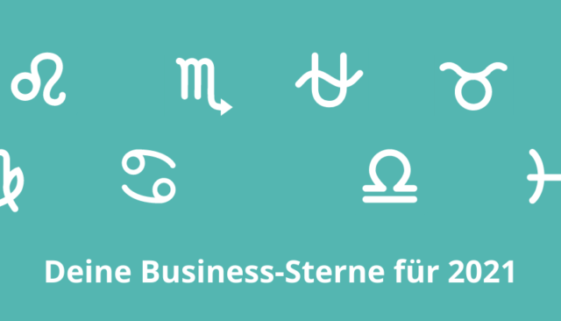 Business Horoskop Marketing 2021